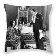 Film Still: Eating & Drinking Throw Pillow
