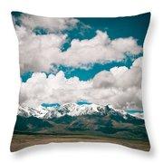 Himalaya Range Throw Pillow