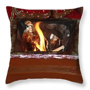 Hindu Wedding Ceremony Throw Pillow