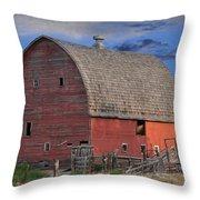 Idaho Falls Throw Pillow