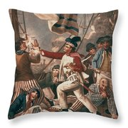 John Paul Jones (1747-1792) Throw Pillow
