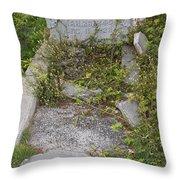 Key West Cemetery Throw Pillow