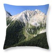 Kindersley Pass Throw Pillow