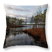 Koirajarvi Throw Pillow