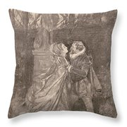 Mary Queen Of Scots (1542-1587) Throw Pillow
