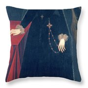 Mary Queen Of Scots Throw Pillow