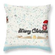 Christmas Card 29 Throw Pillow