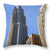 Minneapolis Skyscrapers Throw Pillow
