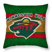 Minnesota Wild Throw Pillow