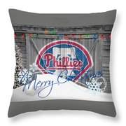 Philadelphia Phillies Throw Pillow