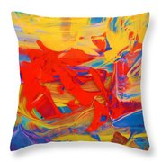 9 Pm Throw Pillow