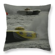 Port Huron Sarnia International Offshore Powerboat Race Throw Pillow