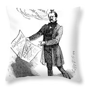 Prince Otto Von Bismarck  Throw Pillow