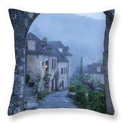 Saint Cirq-lapopie Throw Pillow