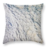 Silica Deposits In Water By The Throw Pillow