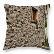 Tight Alley Throw Pillow
