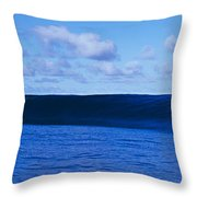Waves Splashing In The Sea Throw Pillow
