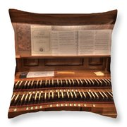 Westminster Presbyterian Church Throw Pillow