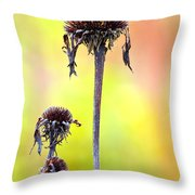 Wilted Flower  Throw Pillow