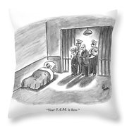 Your 5 A.m. Is Here Throw Pillow