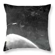 911 Aftermath On 11 2001 Throw Pillow