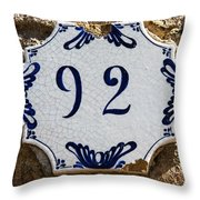 92 Throw Pillow