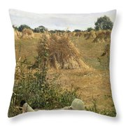 94 Degrees In The Shade, 1876 Throw Pillow