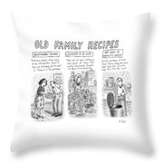 New Yorker June 25th, 2007 Throw Pillow