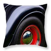 30's Classic Ford Pickup Throw Pillow