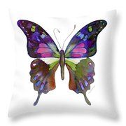 98 Graphium Weiskei Butterfly Throw Pillow