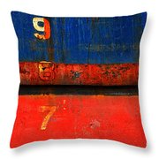 987 Throw Pillow
