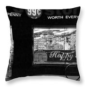 99 Cents - Worth Every Penny Throw Pillow