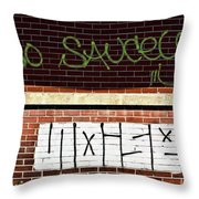 9th Ward Creativity Throw Pillow