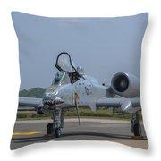 A-10 Thunderbolt Warthog Throw Pillow
