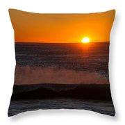 A Amazeing Sun Set Throw Pillow