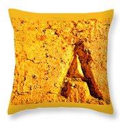 A As In Alphabet  Throw Pillow