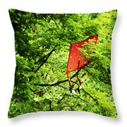 A Bad Day For Mary Poppins Throw Pillow