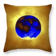 A Baking Planet Throw Pillow