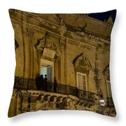 A Ball At The Palace Throw Pillow