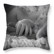 A Bambino's Trust Throw Pillow