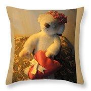 A Bear's Love Throw Pillow