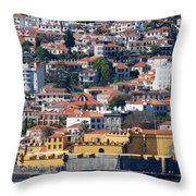 A Bit Of Funchal Throw Pillow