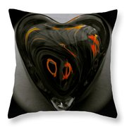 A Bit Of Heart Burn Throw Pillow