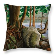 A Bit Of Muskoka Throw Pillow