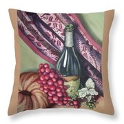 A Bit Of Tuscany Throw Pillow