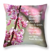 A Blessing For You Throw Pillow