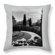 A Bobbink & Atkins Garden Throw Pillow