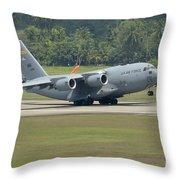 A Boeing C-17 Globemaster IIi Throw Pillow