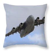 A Boeing C-17 Globemaster IIi Taking Throw Pillow