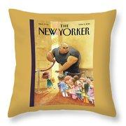Everybody Who's Anybody Throw Pillow
